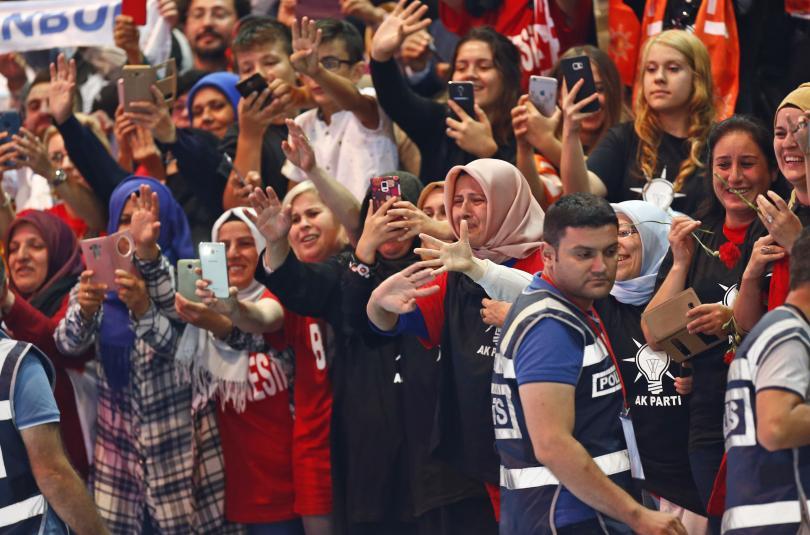снимка 5 Ердоган беше преизбран за лидер на Партията на справедливостта и развитието