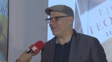 Световноизвестният журналист Ерик Уайнър се срещна с почитатели в София