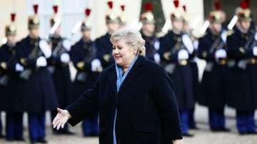 Премиерът на Норвегия Ерна Солберг на посещение у нас