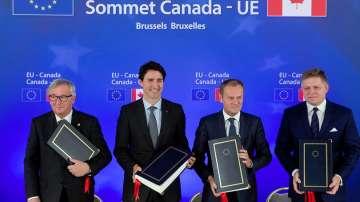 Днес влиза в сила търговското споразумение между Канада и Европейския съюз СЕТА