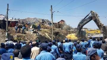 Над 20 загинали и десетки изчезнали при свлачище на сметище в Етиопия
