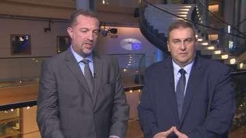 Емил Радев и Иво Христов с коментар за мониторинговия доклад на ЕК