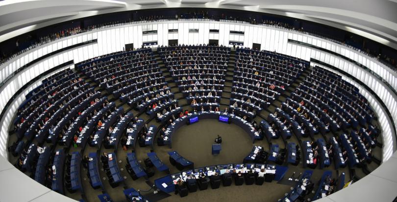 В Страсбург, председателите на Европейската комисия, Европейския съвет и Европейския