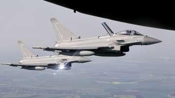 """Русия определи като """"опасни"""" прихващанията на нейни самолети от британските ВВС"""