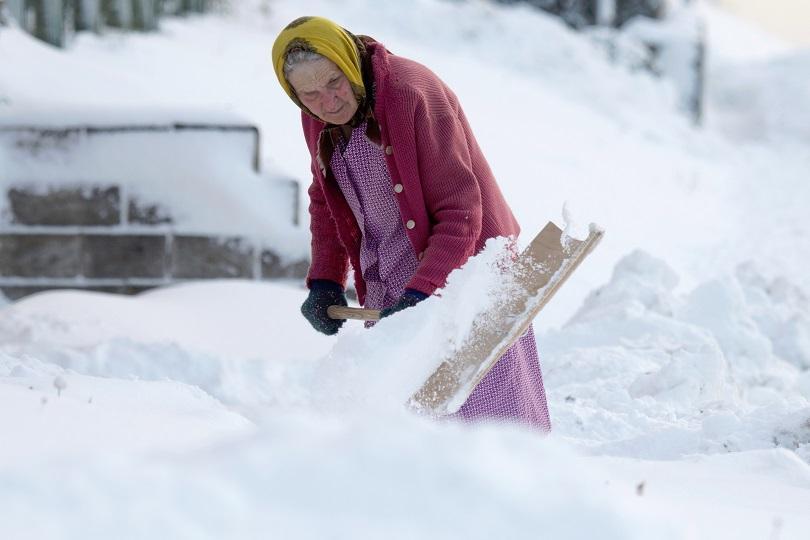 снимка 1 Тежка зима в Северна Европа
