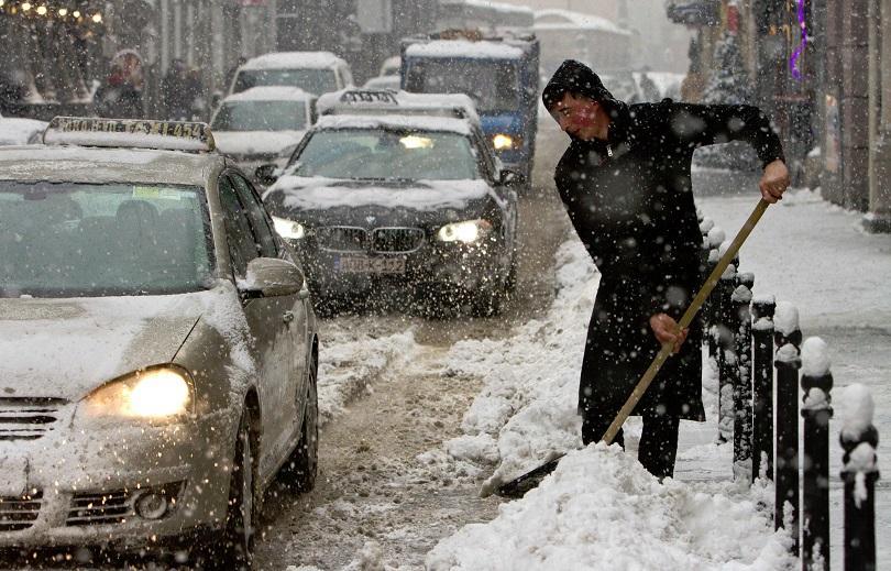 снимка 2 Тежка зима в Северна Европа