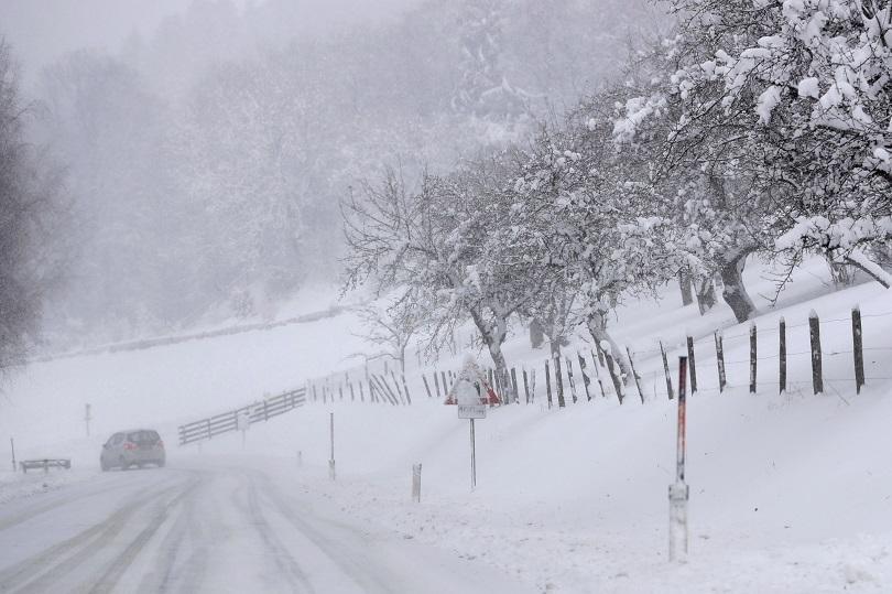 снимка 3 Тежка зима в Северна Европа