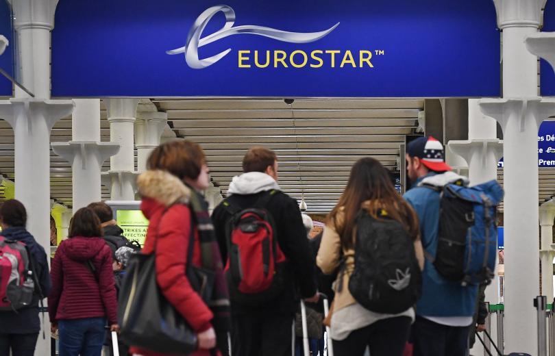 хаос разписанието евростар заради демонстрант релсите