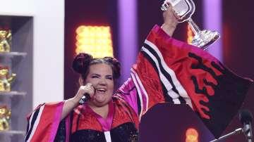 Победителката в Евровизия бе приветствана като най-добрия посланик на Израел