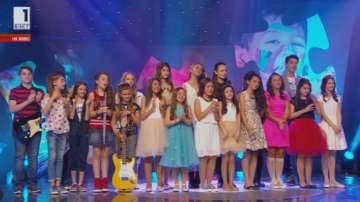 11 деца продължават напред в Детската Евровизия