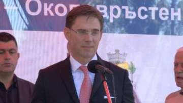 Заместник-председателят на ЕК присъства на първата копка на нов лъч на метрото