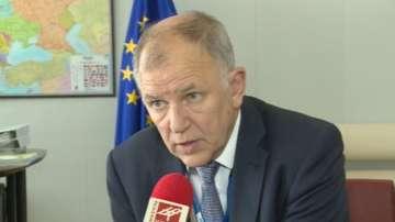 Еврокомисар Витянис Андюкайтис пристига в България