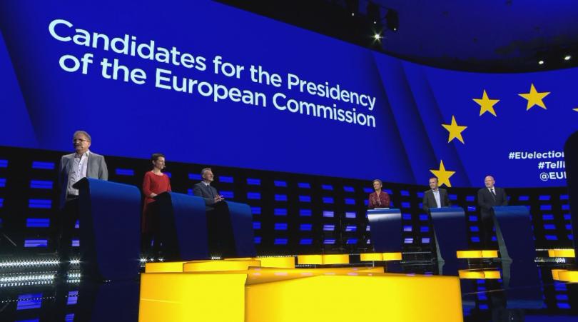 В дебат Манфред Вебер (Европейска народна партия), Франс Тимерманс (Партия