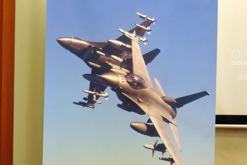 Ясна е ценовата оферта на сделката за осемте изтребителя F-16