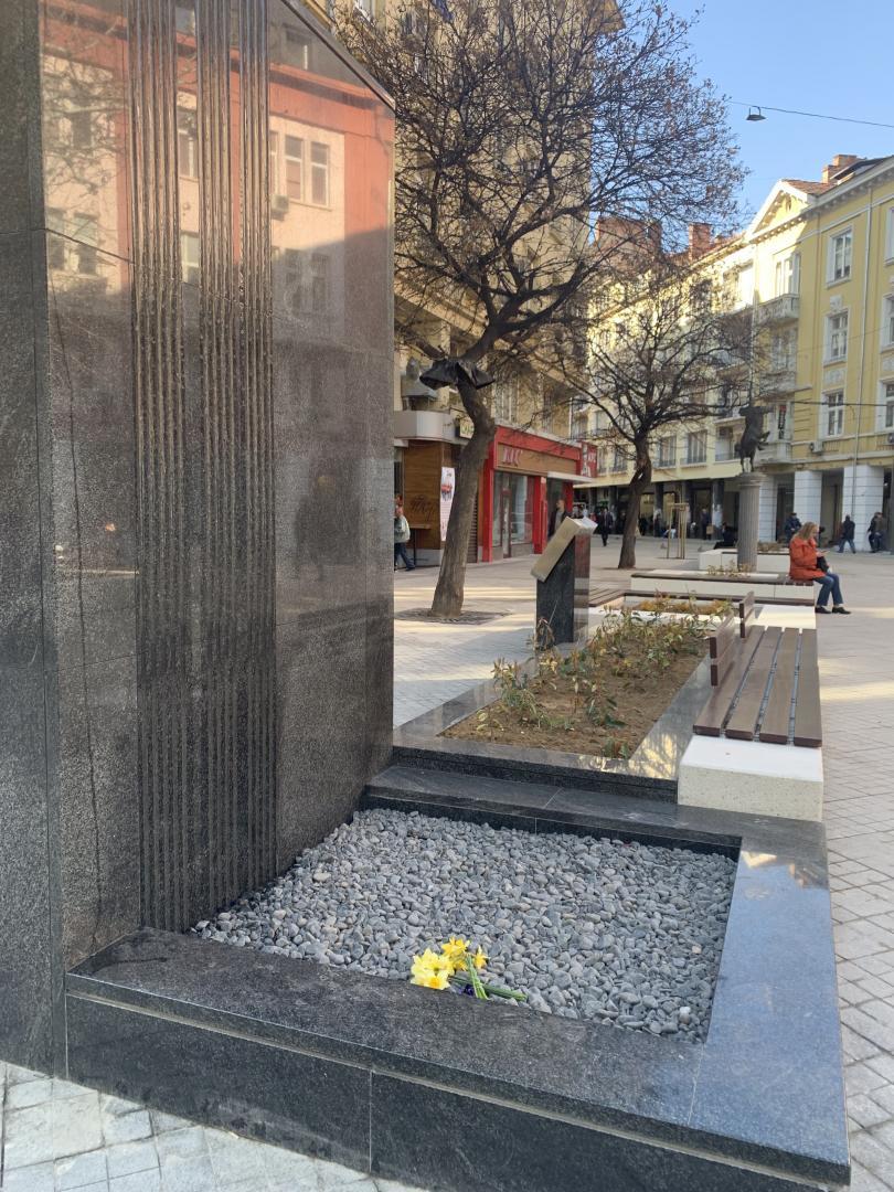 снимка 4 Водна стена на улица Граф Игнатиев стана хит в социалните мрежи