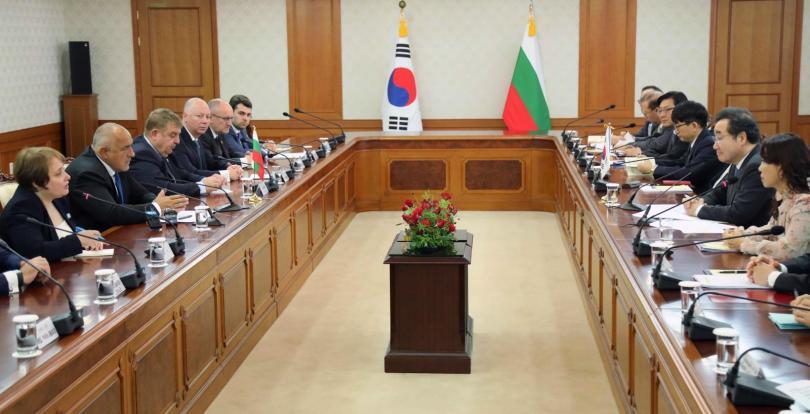 Южна Корея с интерес за участие в изграждането на инсталацията