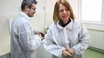 Фандъкова инспектира пречиствателната станция в Бистрица