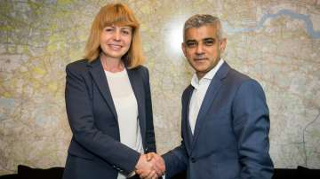 Йорданка Фандъкова се срещна с кмета на Лондон Садик Хан
