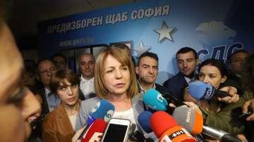 Фандъкова: Софиянци показаха, че желаят развитието на София да продължи