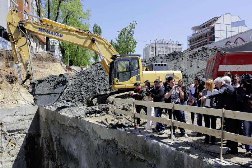 снимка 1 През юни започва строителството на 4 станции от третия лъч на софийското метро