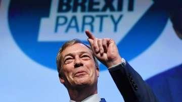 Първи митинг на новата партия на Найджъл Фараж Брекзит