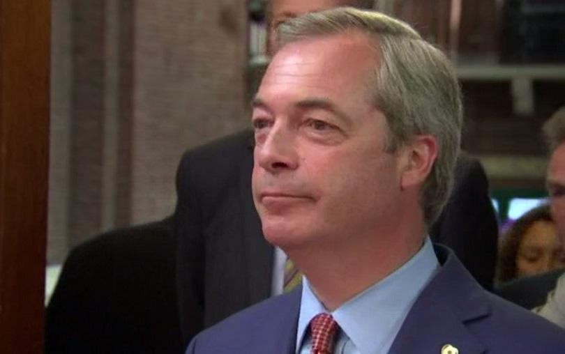 Найджъл Фарадж се връща в политиката като вицепредседател на движение за Брекзит