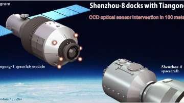 Китайската космическа станция Тянгун-1 изгоря над Тихия океан