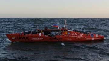 Руснак успя да прекоси половината от Южния Пасифик за 100 дни