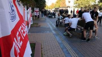 10 души са арестувани след мача България-Англия