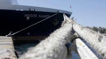 Пет ферибота са осигурени от Самотраки за Александруполис