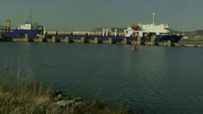 Заради липсата на достатъчно товари българският ферибот