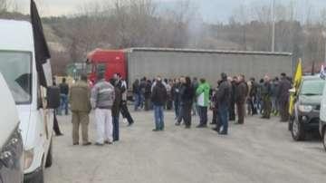 Гръцки фермери блокираха в продължение на часове граничен пункт Кулата-Промахон