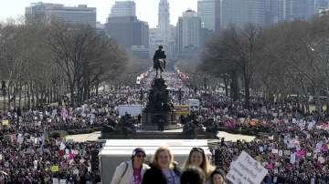 Протести срещу Тръмп в 200 американски града
