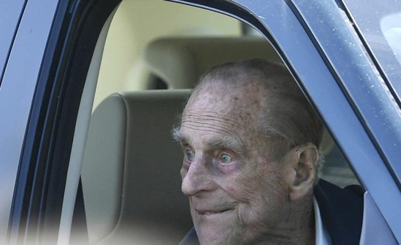 97-годишният принц Филип - съпруг на британската кралица Елизабет II,