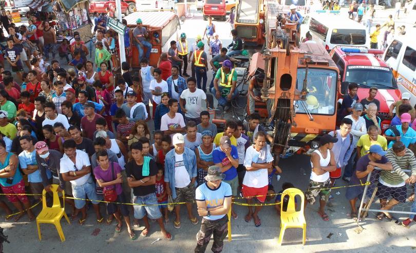 Снимка: Ново силно земетресение във Филипините