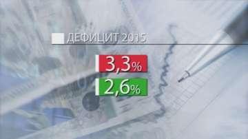 По малък дефицит за 2015-та, отчите министерството на финанстите