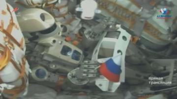 Космическият кораб Союз 14 се скачи с Международната космическа станция