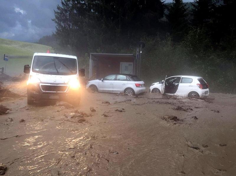 Наводнение в Добиачо, Северна Италия