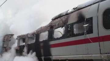 Пожар избухна във влак в Германия, няма пострадали
