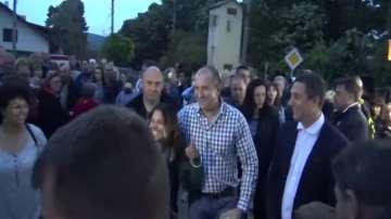 Бразилска туристка не разпозна президента Радев и предизвика усмивки (ВИДЕО)