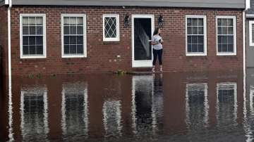 """Ураганът """"Флорънс"""" в САЩ: Тежки наводнения застрашават Северна Каролина"""