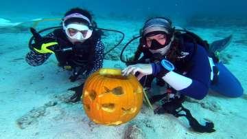 Фестивал за подводни тиквени декорации във Флорида