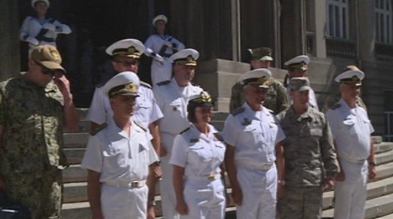 Командващият българските военноморски сили контраадмирал Митко Петев се срещна с