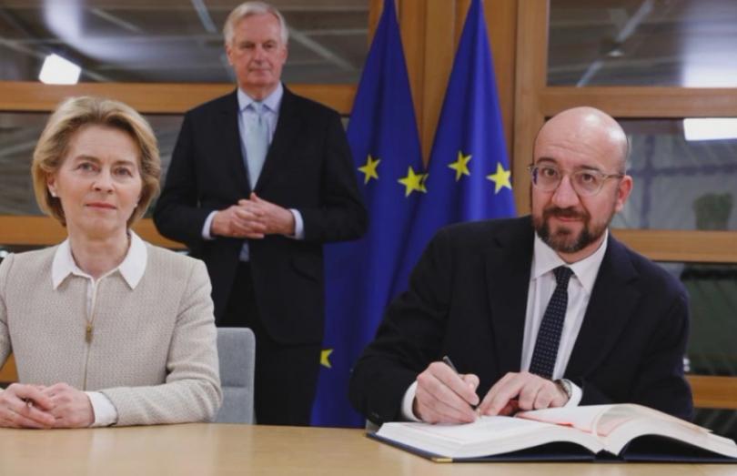 Председателите на Европейската комисия и Европейския съвет - Урсула фон