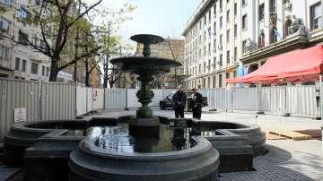 След 14-годишно прекъсване: Пускат фонтана на площад Славейков
