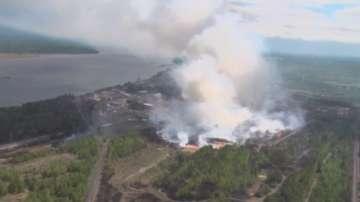 Три жертви на горските пожари в Сибир