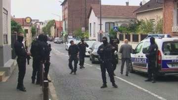 Френската полиция залови предполагаеми терористи