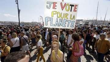 Протести срещу климатичните промени