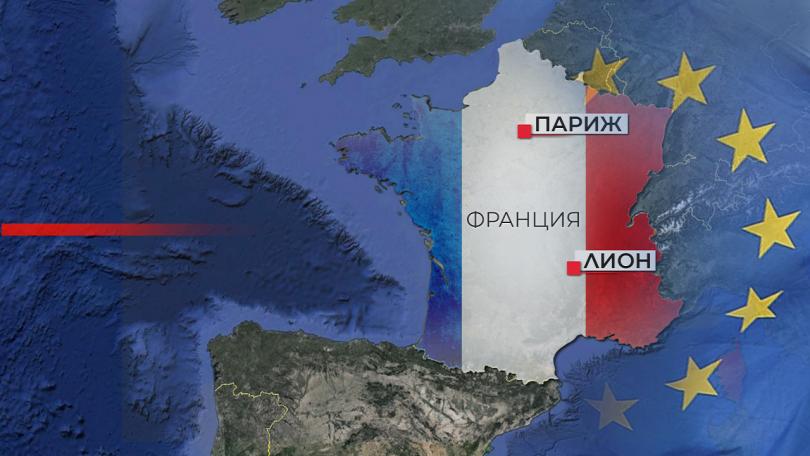 Напрегнати се очертават и евроизборите във Франция. Партията на президента