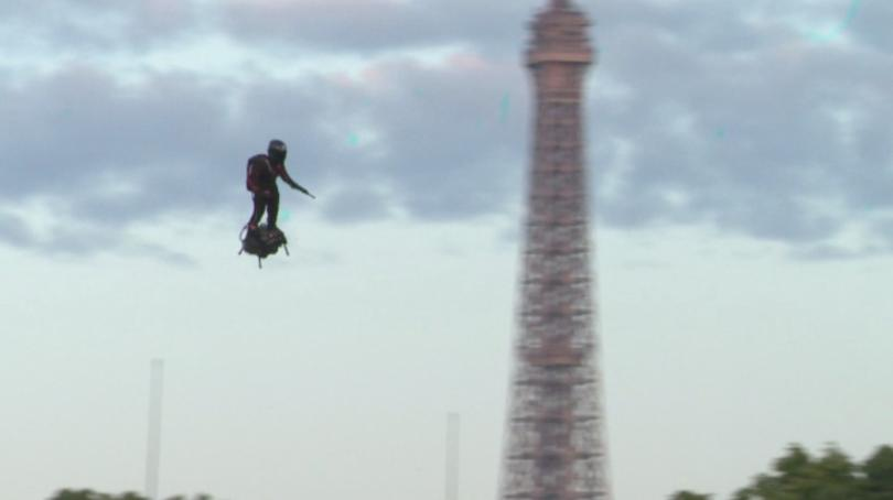 Летящ войник - идеята може да звучи като научна фантастика,